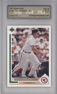 Cal Ripken Jr. (Baseball Card) 1991 Upper Deck - [Base] #347
