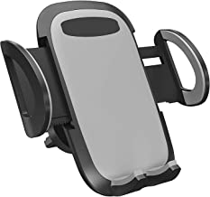 Universal Smartphone Car Air Vent Mount Holder Adjustable Cradle Compatible with Almost All Smartphones Including iPhones, Samsung Galaxy, Google Pixel, Nexus, OnePlus, Huawei and More