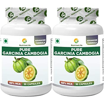 Nutralyfe Garcinia Cambogia Extract With Green Tea 800 Mg Capsules 60 Capsules Amazon In Health Personal Care