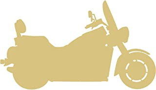 Motorcycle Style 3 Unfinished MDF Wood Cutout Variety of Sizes USA Made Decor (6