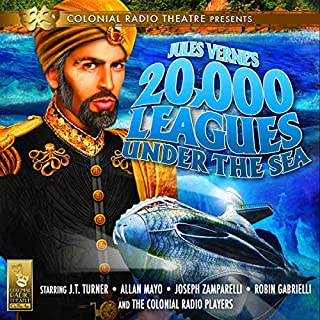 20,000 Leagues Under the Sea                   By:                                                                                                                                 Jules Verne,                                                                                        Deniz Cordell                               Narrated by:                                                                                                                                 J. T. Turner,                                                                                        Allan Mayo,                                                                                        Joseph Zamparelli,                   and others                 Length: 2 hrs and 52 mins     89 ratings     Overall 4.4