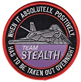 Lockheed F-117 Nighthawk Stealth Fighter Team Patch