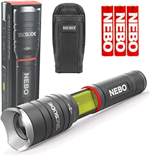 NEBO Tac Slyde 300 Lumen Flashlight/Work Light Bundle with NEBO Slyde Holster