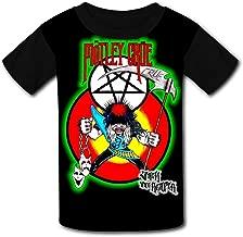Allister-Fiend-Motley-Crue Teen Novelty Graphic Youth Short T-Shirt Sleeve Tees Boys Girls Black