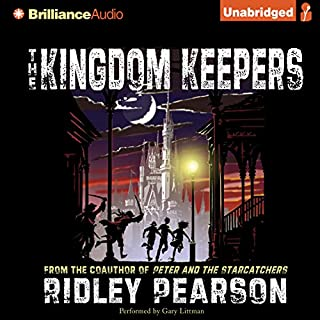 The Kingdom Keepers audiobook cover art