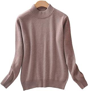 Always Pretty Women's Slim Mock Neck Wool Knit Jumper Sweater Tops Pullover