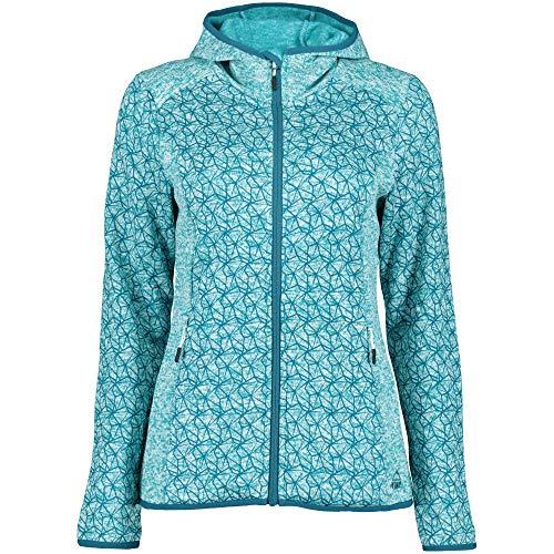 McKINLEY Damen Fleece Powerstretch-Jacke Rock Ledges blau (296) 42