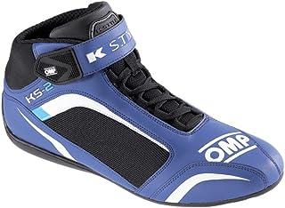 OMP OMPIC/81224237 Zapatillas, Azul/Blanco/Cian, Talla 37