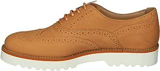 Hogan Luxury Fashion Womens HXW2590R3207UTG618 Orange Lace-Up Shoes | Season Outlet