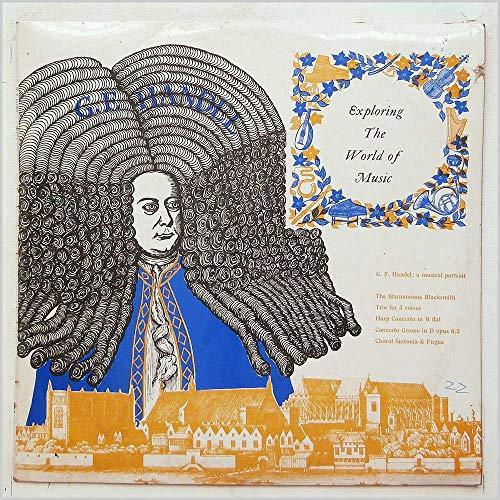 EXP 4 VARIOUS ARTISTS G F Handel Musical Portrait LP