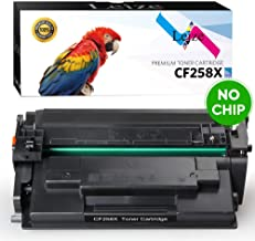 Leize (NO CHIP) Compatible HP 58X CF258A CF258X Toner Cartridge 1-Pack, High Yield Black 10,000 Pages use for HP Laserjet Pro M404n M404dn M404dw MFP M428fdn M428fdw Series