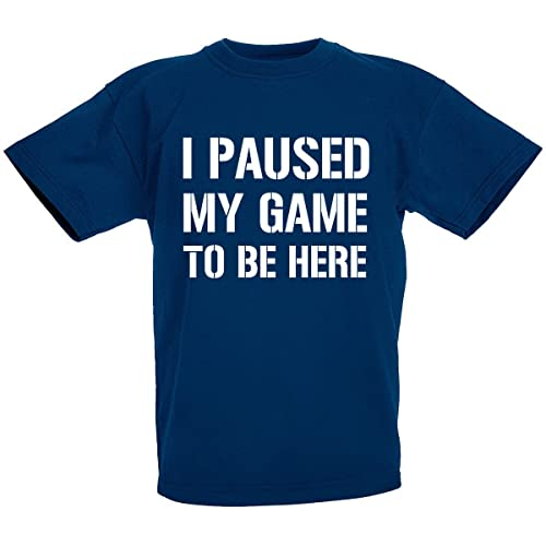 I/'M THE LITTLE BROTHER Boys T-Shirt 1-14 Years Blue Funny Joke Gift Present