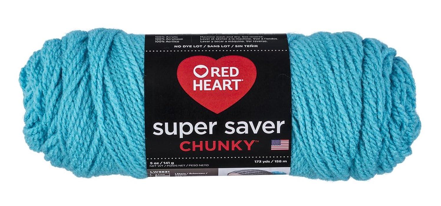 Red Heart Super Saver Chunky Yarn-Turqua