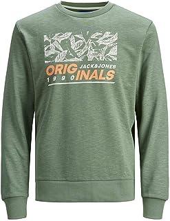Jack & Jones Men's Jorlefo Sweat Crew Neck Sweatshirt