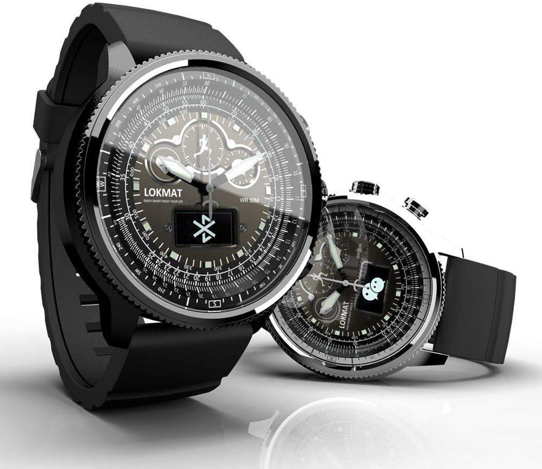 FRWPE Smart Watch Mnner Sport Schrittzhler Blautooth wasserdicht Anruf Erinnerung Smartwatch für iOS Android-Handy