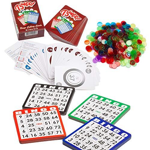 1000 pack bingo chips - 9
