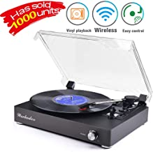 Turntable Vinyl Record Player Support Wireless Record Player Turntable Vinyl Records 3 Speed Turntable Player