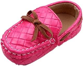 Femizee Newborn Baby Shoes Infant Boys Girls Soft Anti-Slip Dress First Walkers