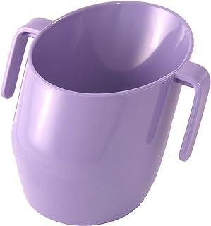 Cikuso Taza para beber a prueba de salpicaduras fugas magia Taza a prueba de fugas de 360 grados para ninos taza de entrenamiento para bebes rosado