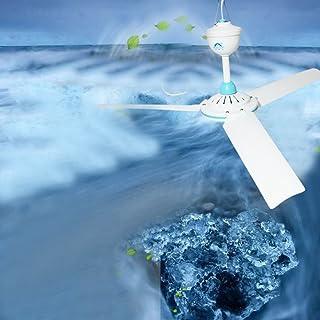 Ventilador eléctrico para colgar en el techo N/A DC 12 V de bajo voltaje