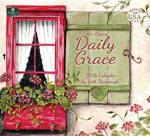 Legacy Publishing Group 2016 Wall Calendar, Daily Grace (WCA18305)