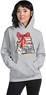 Unisex Heavy Blend Hoodie/Keep Calm and Read Books/Hoodie for Book Readers/S, M, L, XL, 2XL, 3XL, 4XL, 5XL