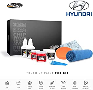 Color N Drive | Hyundai UB5 - Moonlight Blue Pearl Touch Up Paint | Compatible with All Hyundai Models | Paint Scratch, Chips Repair | OEM Quality | Exact Match | Pro