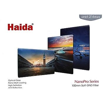 Haida NanoPro 100mm MC Soft Graduated Neutral Density ND16ND 1,2Optischer Glas-Filter 1004Stop GND
