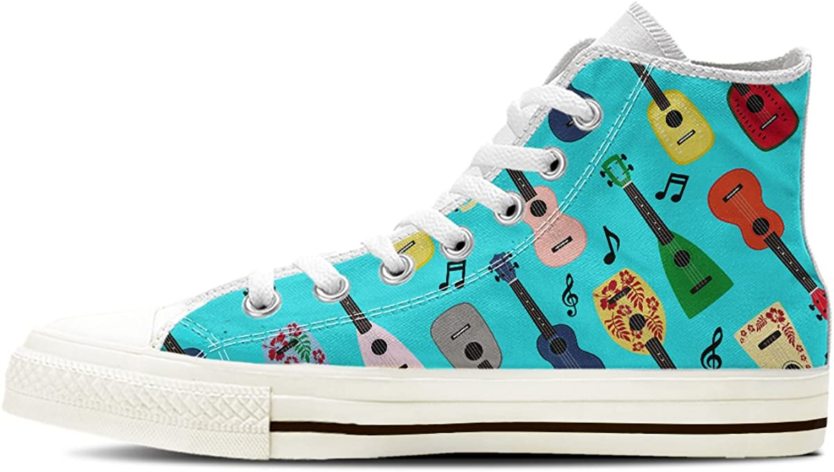 Gnarly NEW before selling Tees Men's Finally resale start Ukulele High Top Shoes