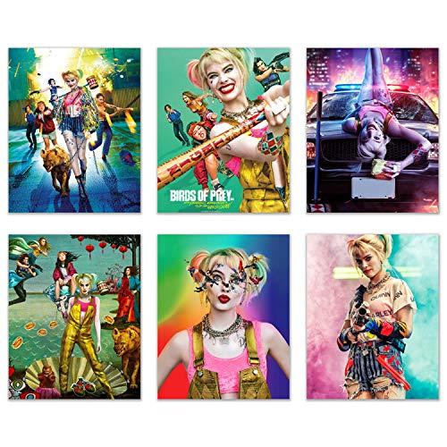 61x0iDsmM+L Harley Quinn Birds of Prey Posters