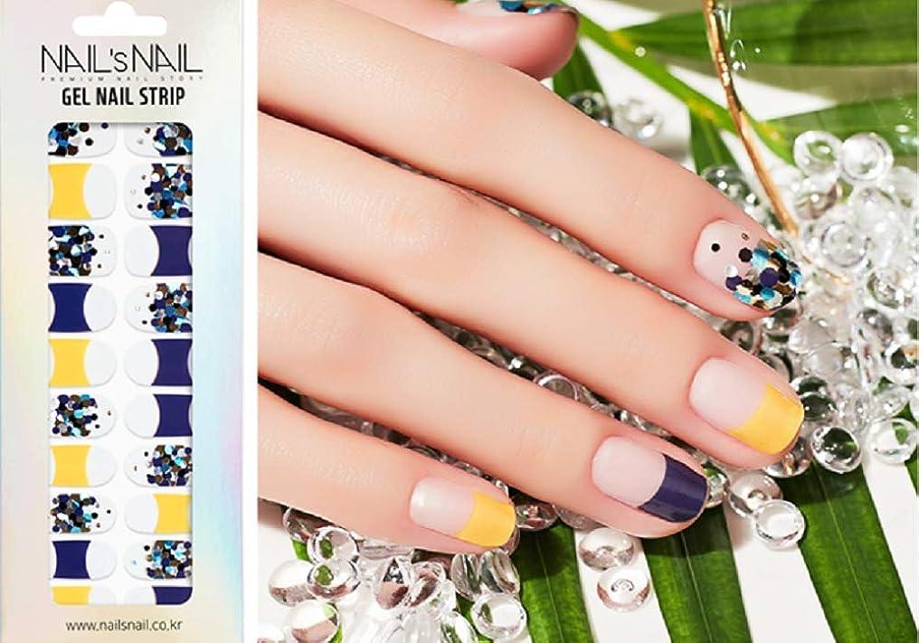 型頑固なめんどり\貼るジェルネイル/Nail's Nail(ネイルスネイル) ジェルネイルストリップ 133