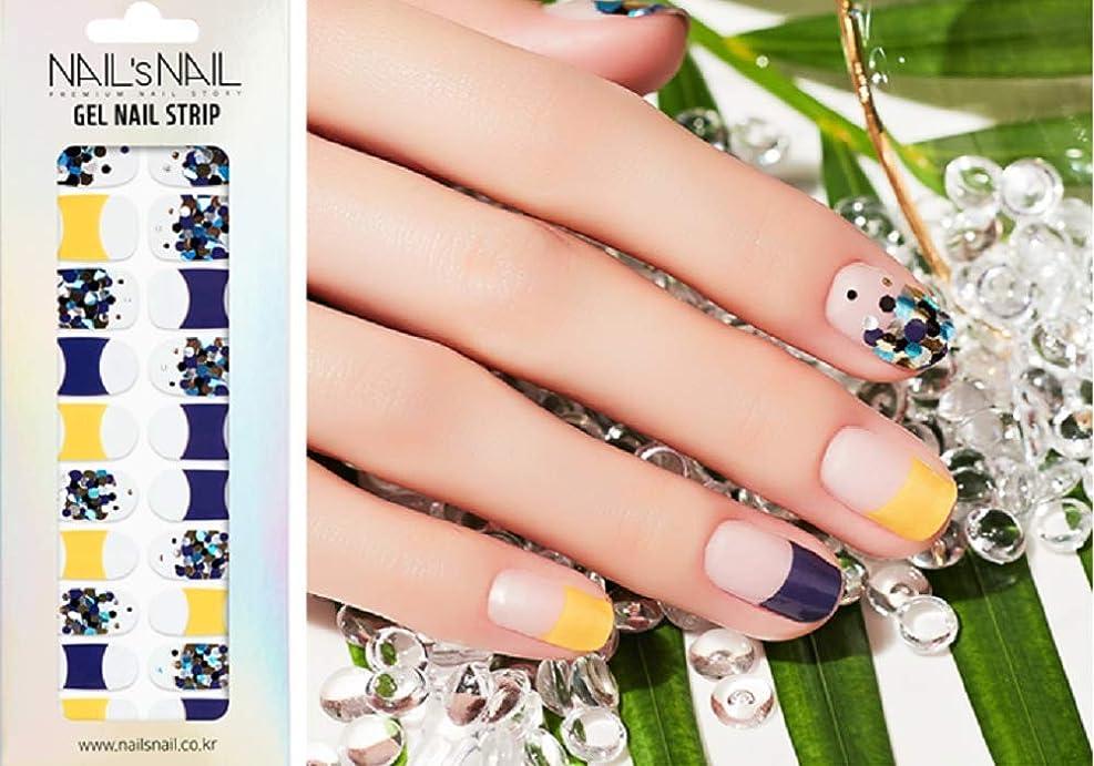 第ランクバーマド\貼るジェルネイル/Nail's Nail(ネイルスネイル) ジェルネイルストリップ 133