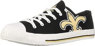 NFL Mens Low Top Big Logo Canvas Shoes