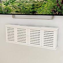 Étagère de rangement pour routeur sans fil fixé au mur, fil de blindage de prise de boîte de rangement pour routeur WiFi, ...
