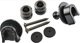 Fender Strap Locks and Buttons, Black (2)