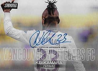 2018 Stadium Club MLS Autographs #84 Kei Kamara NM-MT Vancouver Whitecaps FC Official MLS Soccer Trading Cards