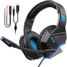 $24 » [New Edition] Mpow EG10 Gaming Headset with 3D Surround Sound, PC PS4 Headset with Crystal Clear Mic, 50mm Speaker Drivers, Volume & Mute Control Universal Gaming Headphones for Xbox One(Black)
