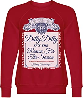 Dilly Dilly Beer Ugly Xmas Sweater: Unisex Triblend Crewneck Sweatshirt