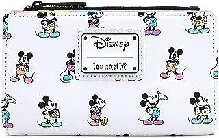 کیف پول پاستلی Loungefly Mickey Mouse