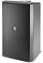 JBL CONTROL 30 Three-Way High Output Indoor/Outdoor Monitor Speaker, Black