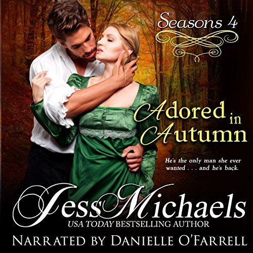 Adored in Autumn audiobook cover art