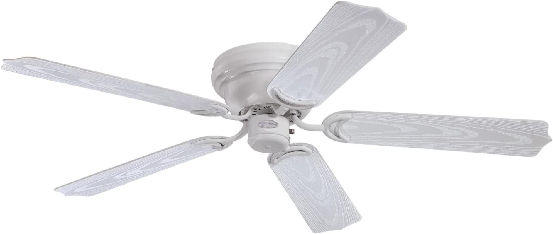Westinghouse Lighting 7217200 Contempra 48-Inch Indoor/Outdoor Ceiling Fan, White Finish