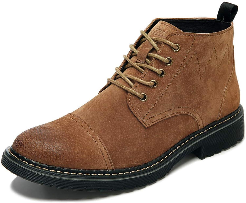UBCA-TBA Mens Casual shoes Retro Tooling shoes England Autumn shoes