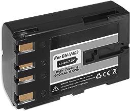 Battery BN-V408 V408U for JVC GR-DV4000  DV5000  DVL310  DVL310U  DVL505U  DVL510U  DVL915U