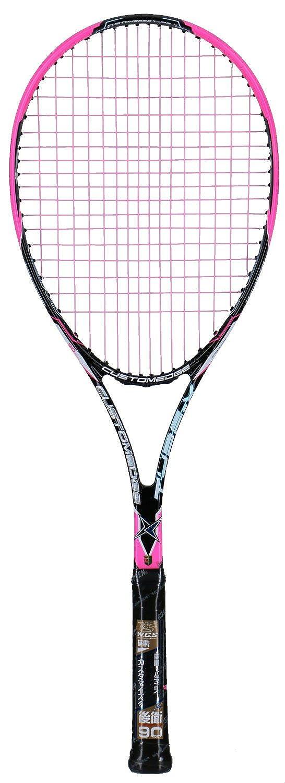 ゴーセン(GOSEN) [ガット張り上げ] ソフトテニス ラケット カスタムエッジ タイプX ショッキングピンク グリップサイズSL 0 SRCXSPSL0