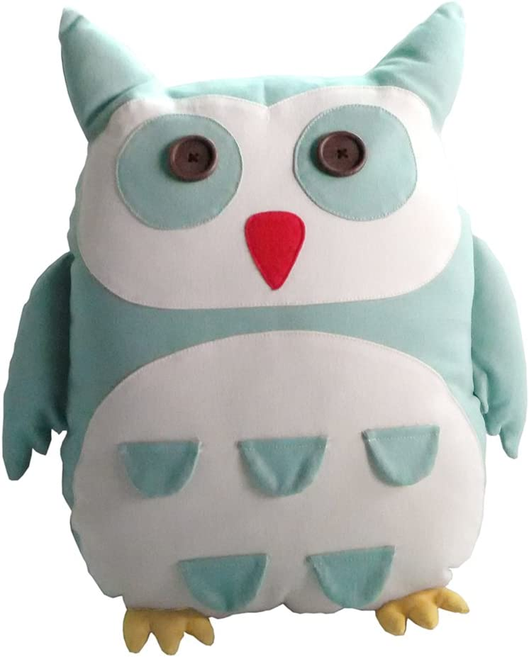 Gentle Meow Canvas Free Sacramento Mall shipping anywhere in the nation Owl Stuffed Toys Animals Handmade Bedroo Home