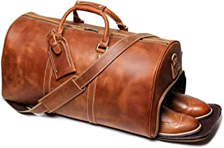 Best black leather travel bags Reviews