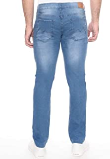 CALÇA JEANS COOL FIT BLUE WASH Mofficer