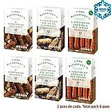 LINDA McCARTNEY Pack de 6 SALCHICHAS: VEGETARIANAS, CEBOLLA ROJA Y ROMERO, & CHORIZO Y PIMIENTA ROJA VEGANO Congelado (2 de cada)
