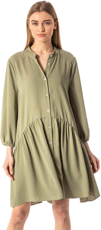 Roman Originals Womens まとめ買い特価 開催中 Dropped Waist Ladies Dress Shirt -